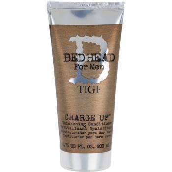 TIGI Bed Head B for Men balsamo idratante e volumizzante (Charge Up Thickening Conditioner) 200 ml