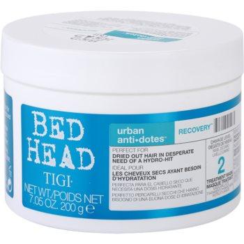 TIGI Bed Head Urban Antidotes Recovery maschera rigenerante per capelli rovinati e secchi (Treatment Mask) 200 g
