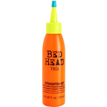 TIGI Bed Head Styling crema per lisciare i capelli (Straighten Out 98% humidity-defying straightening cream) 120 ml