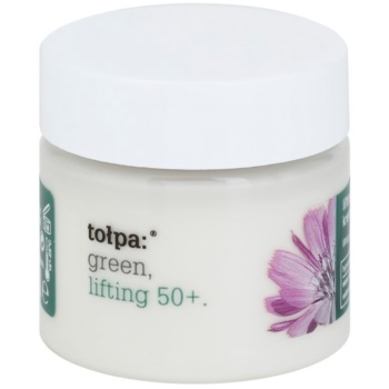 Tołpa Green Lifting 50+ crema liftante antirughe Chicory, Primrose, Shea Butter (Reduces Wrinkles and Nourishes) 50 ml