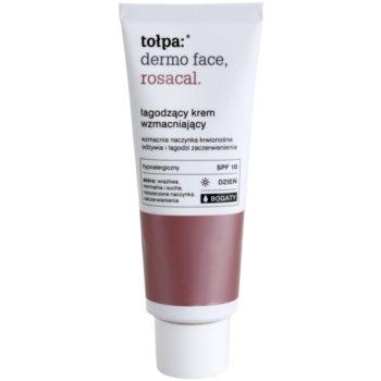 Tołpa Dermo Face Rosacal crema lenitiva ricca per pelli con tendenza all'arrossamento SPF 10 (Hypoallergenic) 40 ml