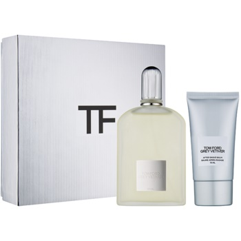 Tom Ford Grey Vetiver kit regalo II eau de parfum 100 ml + balsamo post-rasatura 75 ml