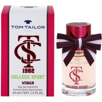 Tom Tailor College Sport eau de toilette per donna 30 ml