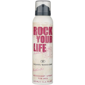 Tom Tailor Rock Your Life For Her deospray per donna 150 ml