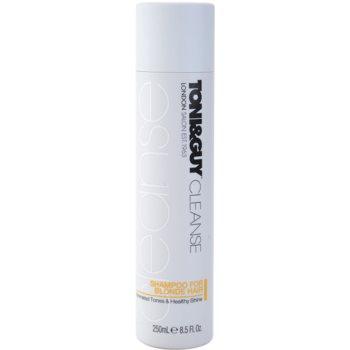 TONI&GUY Cleanse shampoo per capelli biondi (Shampoo for Blonde Hair) 250 ml