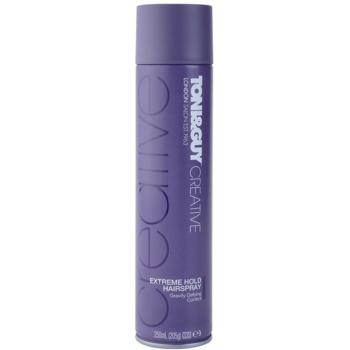TONI&GUY Creative lacca per capelli fissante extra forte (Gravity Defying Control) 250 ml