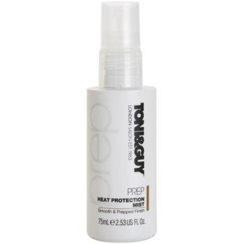 TONI&GUY Prep spray protettivo per capelli affaticati dal calore (Heat Protection Mist Anti-Static Control) 75 ml