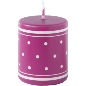 Unipar Retro Pink candela decorativa 100 g  (Pillar 50 – 60)