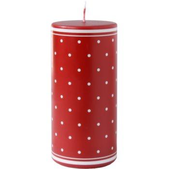 Unipar Retro Red candela decorativa 475 g  (Pillar 70 – 150)