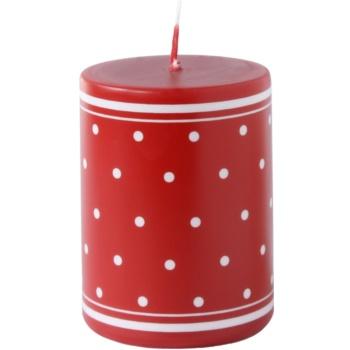 Unipar Retro Red candela decorativa 200 g  (Pillar 60 – 80)