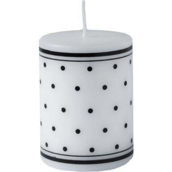 Unipar Retro White candela decorativa 200 g  (Pillar 60 – 80)