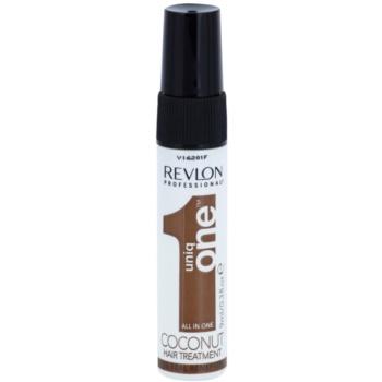 Uniq One All In One trattamento per capelli al cocco 10 in 1 (Hair Treatment Coconut) 9 ml