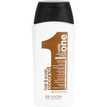 Uniq One All In One shampoo rinforzante per tutti i tipi di capelli (Conditioning Shampoo Coconut) 300 ml