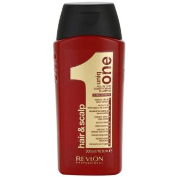 Uniq One All In One shampoo nutriente per tutti i tipi di capelli (Conditioning Shampoo) 300 ml