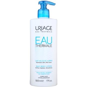 Uriage Eau Thermale latte corpo effetto seta per pelli secche e sensibili (24-Hour Hydration, Smoothness) 500 ml