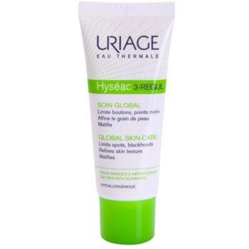 Uriage Hyséac 3-Regul crema opacizzante contro i punti neri (Limits Spots, Blackheads, Refines Skin Texture Matifies) 40 ml