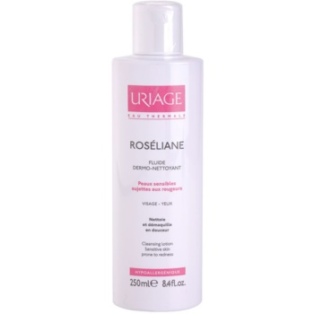 Uriage Roséliane fluido detergente per pelli sensibili con tendenza all'arrossamento (Cleansing Lotion) 250 ml
