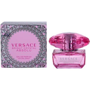 Versace Bright Crystal Absolu eau de parfum per donna 50 ml