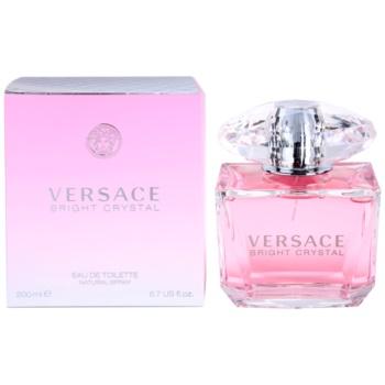 Versace Bright Crystal eau de toilette per donna 200 ml