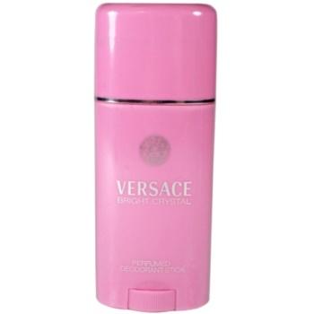 Versace Bright Crystal deodorante stick per donna 50 ml
