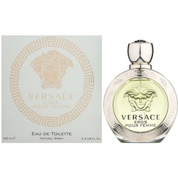 Versace Eros Pour Femme eau de toilette per donna 100 ml