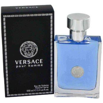 Versace pour Homme lozione post-rasatura per uomo 100 ml