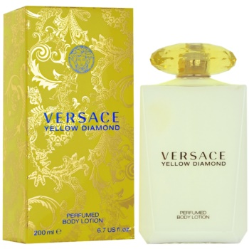 Versace Yellow Diamond latte corpo per donna 200 ml