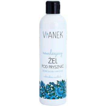 Vianek Moisturising gel doccia effetto idratante con estratto di tossilaggine  300 ml