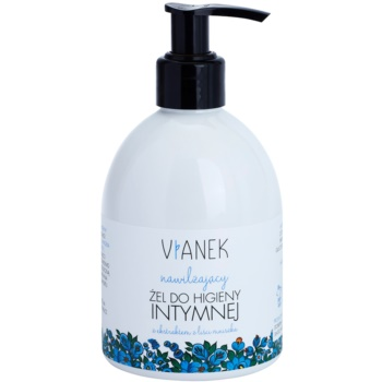 Vianek Moisturising gel lenitivo per l'igiene intima con estratto di foglie di tarassaco  300 ml