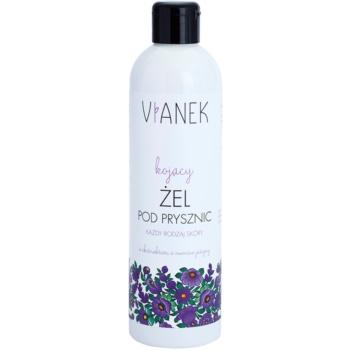 Vianek Soothing gel doccia effetto lenitivo con estratto di more  300 ml