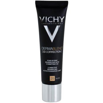 Vichy Dermablend 3D Correction fondotinta lisciante correttore SPF 25 colore 25 Nude (Corective Resurfacing Active Foundation 16 hr) 30 ml