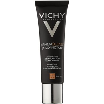 Vichy Dermablend 3D Correction fondotinta lisciante correttore SPF 25 colore 55 Bronze (Corective Resurfacing Active Foundation 16 hr) 30 ml