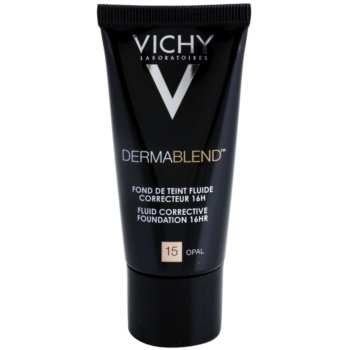 Vichy Dermablend fondotinta correttore SPF 35 colore 15 Opal (Fluid Corrective Foundation 16 h) 30 ml