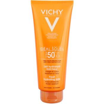 Vichy Idéal Soleil Capital latte protettivo per corpo e viso SPF 50+ (Water Resistant, Fragrance Free, Paraben Free, Hypoallergenic) 300 ml
