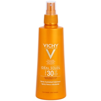 Vichy Idéal Soleil Capital spray protettivo con effetto idratante SPF 30 (Hypoallergenic, No Parabens) 200 ml
