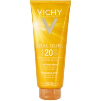 Vichy Idéal Soleil latte protettivo idratante per viso e corpo SPF 20 (Water-Resistant, Paraben Free, Hypoallergenic) 300 ml