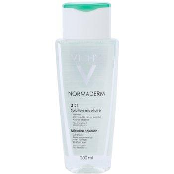 Vichy Normaderm lozione micellare detergente per pelli grasse e problematiche (Micellar Solution) 200 ml