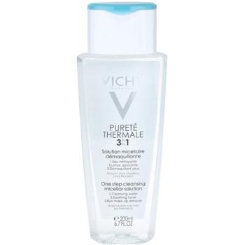 Vichy Pureté Thermale lozione micellare detergente 3 in 1 (One Step Cleansing Micellar Solution) 200 ml