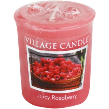 Village Candle Juicy Raspberry candela votiva 57 g