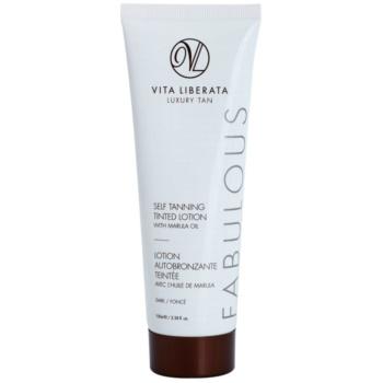 Vita Liberata Fabulous crema autoabbronzante colorata (Dark) 100 ml