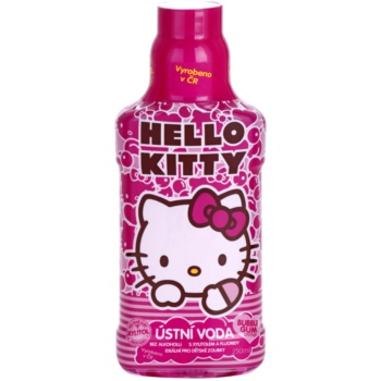 VitalCare Hello Kitty collutorio per bambini aroma Buble Gum (Alcohol - Free) 250 ml