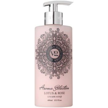 Vivian Gray Aroma Selection Lotus & Rose sapone liquido in crema 400 ml