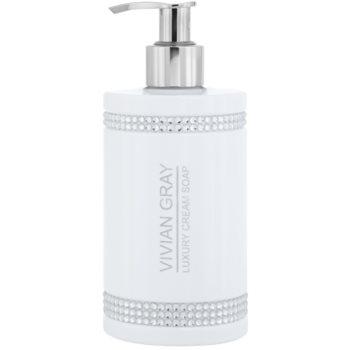 Vivian Gray Crystals White sapone in crema di lusso 250 ml