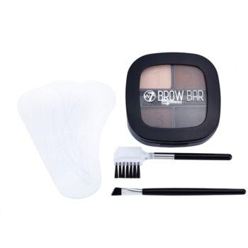 W7 Cosmetics Brow Bar kit per sopracciglia perfette 5 g