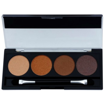 W7 Cosmetics Toasted palette di ombretti con applicatore 4 g