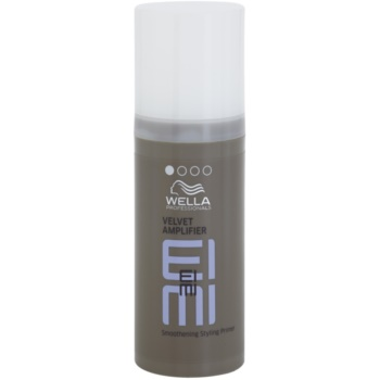 Wella Professionals Eimi Velvet Amplifier trattamento modellante per lisciare i capelli Hold Level 1 (Perfect Base for any Style, Improving Hair Manageability and Styling Control for Smooth, Responsive Styling.) 50 ml
