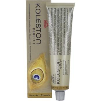 Wella Professionals Koleston Perfect Special Blonde tinta per capelli colore 12/81 (Permanent Creme Haircolor) 60 ml