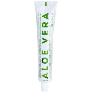 White Pearl Smile Aloe Vera dentifricio per denti e gengive sani 120 g