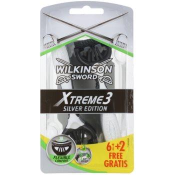 Wilkinson Sword Xtreme 3 Silver Edition rasoi monouso 8 pz