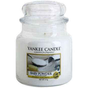 Yankee Candle Baby Powder candela profumata 411 g Classic media